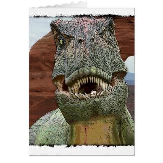 Tyrannosaurus Rex Dinosaurier Karte
