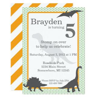 Tyrannosaurus Rex Geburtstags-Einladung Karte