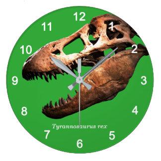 Tyrannosaurus rex große wanduhr