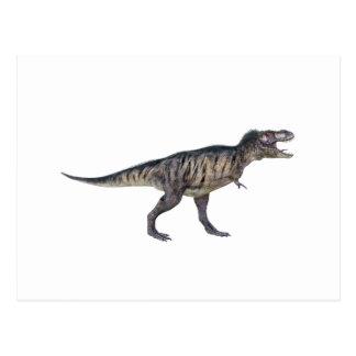 Tyrannosaurus Rex im Seitenprofil Postkarte
