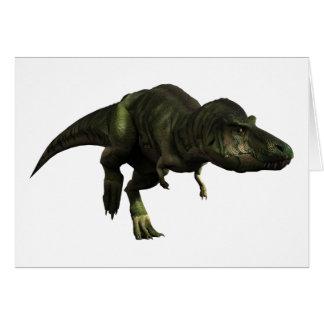Tyrannosaurus rex karte