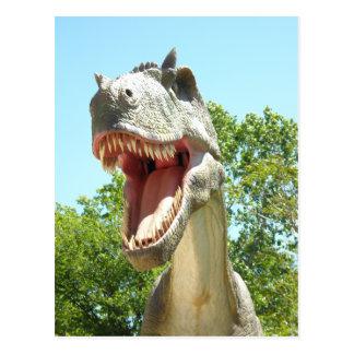 Tyrannosaurus Rex Postkarte
