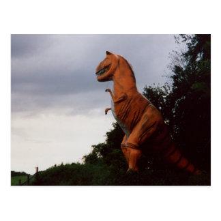 Tyrannosaurus Rex T-Rex Postkarte