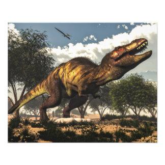 Tyrannosaurus rex und seine Eier Flyer