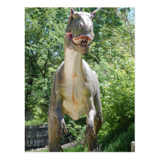 Tyrannosaurus T-Rex Dinosaurier Postkarte