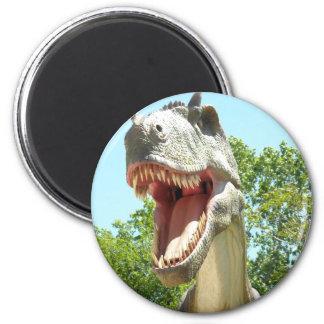 Tyrannosaurus T-Rex Dinosaurier Runder Magnet 5,1 Cm