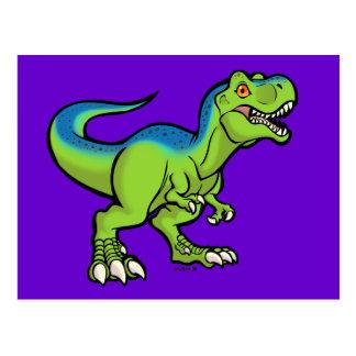 Tyrannosaurus Toon v2 Postkarte