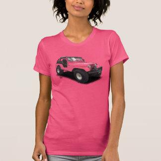 U-Auswahl die Farbvierrädrige droschke auf T-Shirt