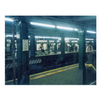 U-Bahnstation Postkarte
