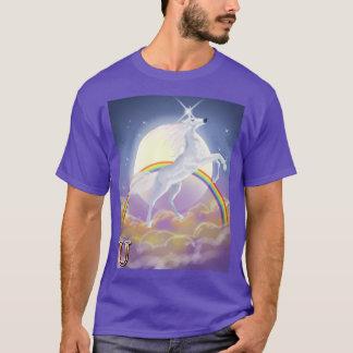 U ist für Einhorn T-Shirt