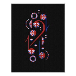 U.K. Musik Flyerbedruckung