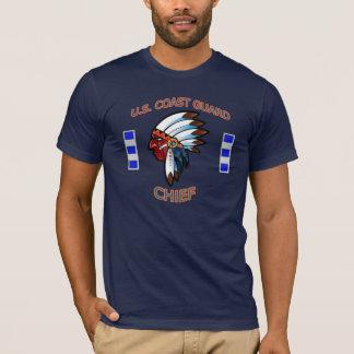 U.S. Indischer Leiter-Shirt der Küstenwache-CWO-4 T-Shirt