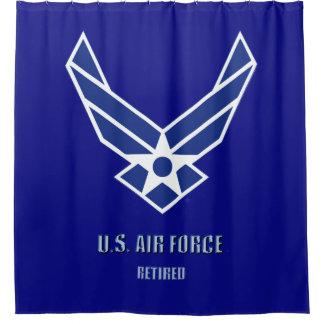 U.S. Luftwaffe pensionierter Duschvorhang