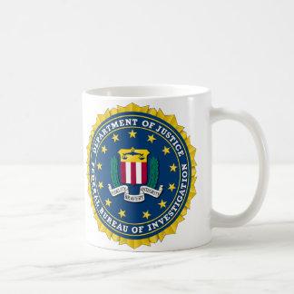 U.S. MINISTÈRE DE LA JUSTICE - FBI MUG