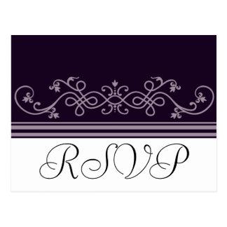 UAWG, das lila violette Postkarten Wedding ist