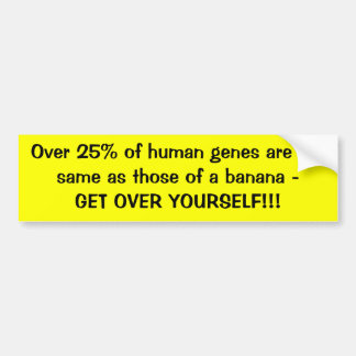 Über 25% von menschlichen Genen sind die selben Autoaufkleber