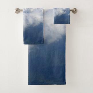über den Wolken 03 Badhandtuch Set