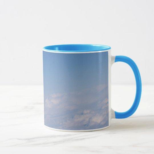 über den Wolken Tasse