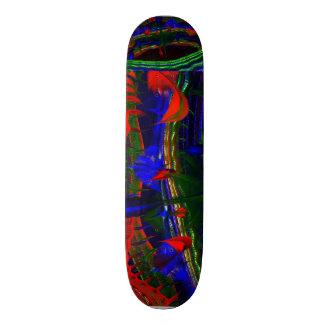 ÜBER GEMALTEM MANDELBULB 3D FRAKTALabstraktem IMG Bedruckte Skateboarddecks