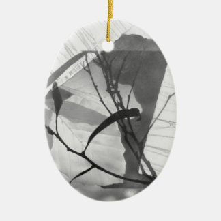 """Überdachungs-Nr. 1-"" Druck Keramik Ornament"