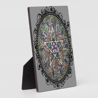"""Überfluss-Pentagramm 5,25"""""""" Plakette des Fotoplatte"""