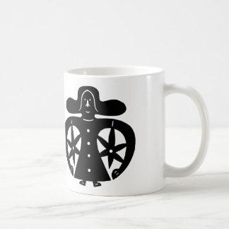 Überglücklich Kaffeetasse