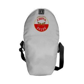 Überholte Ware-Logo-Rickshaw-Bote-Tasche Mini Kurier Taschen