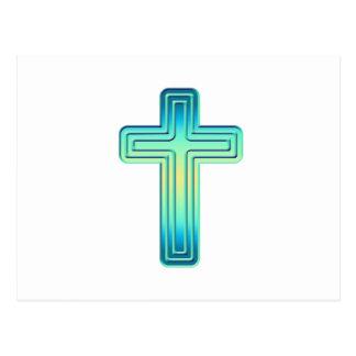 Überlagertes Kreuz 1 Postkarte