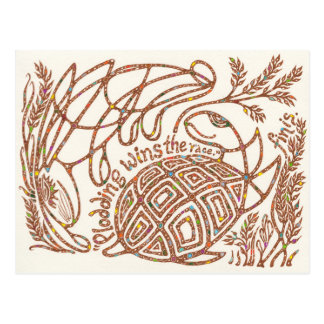 Überlebend-Nabe 10: Äsops Schildkröte und die Postkarte