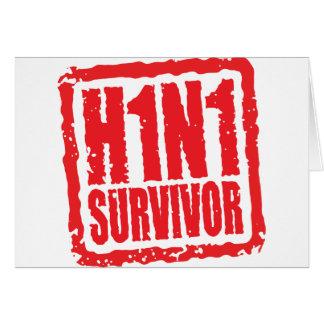 Überlebender H1N1 Karte