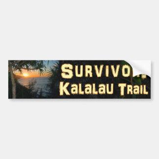 Überlebender: Kalalau Spur Autoaufkleber