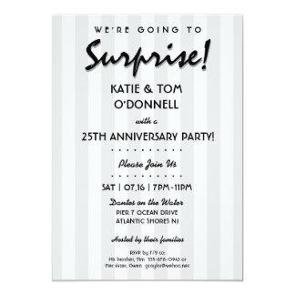 ÜBERRASCHUNG! 30. oder irgendeine Jahrestags-Party 12,7 X 17,8 Cm Einladungskarte
