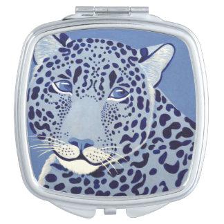 Überseeischer kompakter Spiegel Jaguars Taschenspiegel