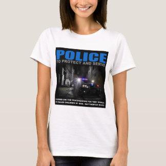 Überwachen Sie polizeilich, um Frauen T - Shirt zu