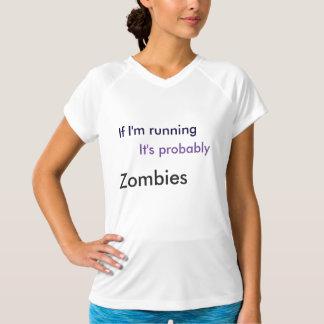 Übungs-Shirt (laufend von den Zombies) T-Shirt