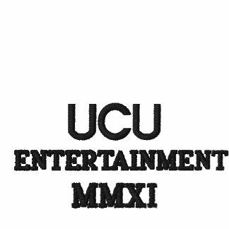 UCU, DIVERTISSEMENT, MMXI SWEAT-SHIRTS À CAPUCHE BRODÉS