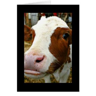 Udderly cooler Tag Tanten-Mutter mit Kuh Karte