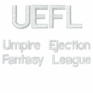 UEFL Text gesticktes Polo
