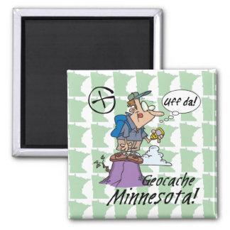 Uff DA! Magnet #1 Minnesotas Cacher