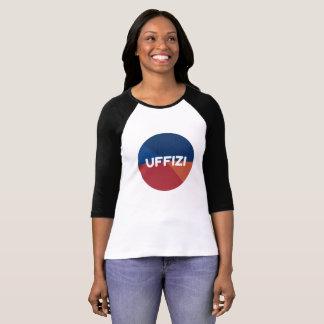 Uffizi Logo-Hülsen-T - Shirt