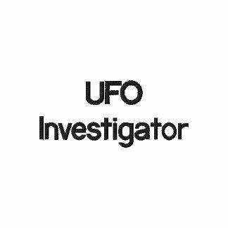 UFO-Forscher-klassisches Polo-Shirt Besticktes Polo Hemd