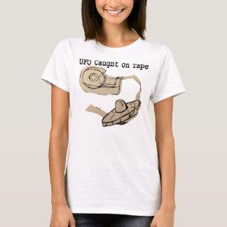 UFO gefangen auf Band T-Shirt