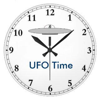 UFO-Stempeluhr Große Wanduhr