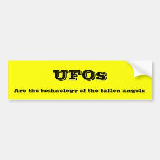 UFOs Autoaufkleber