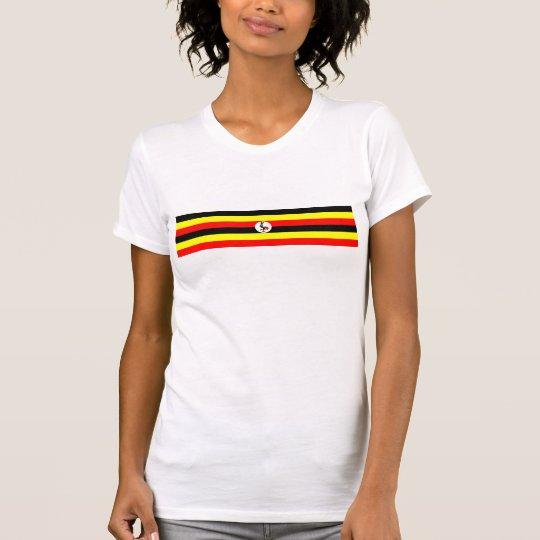 Uganda-Landesflaggenationssymbol T-Shirt