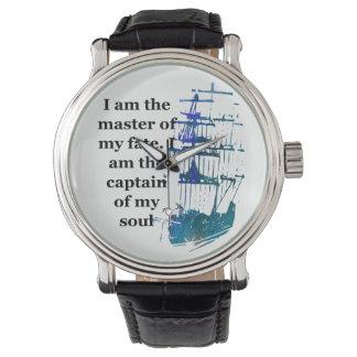 Uhr bin ich der Meister meines Schicksals