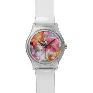 Uhr der Hibiskus-Blumen-May28th