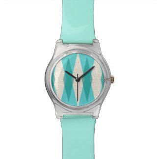 Uhr der Mitte- des Jahrhundertsmoderne