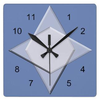 Uhr - geometrisches Muster