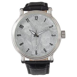 Uhr-Schablonen-Fülle-Bild mit Zahlen Uhr